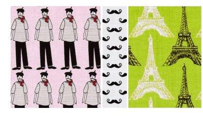 Riley Blake Fabrics Pepe In Paris