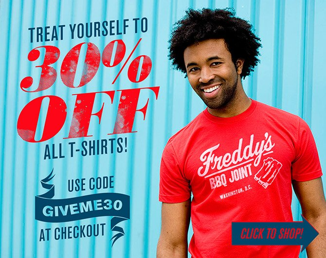 30% Off All Shirts — Shop Now