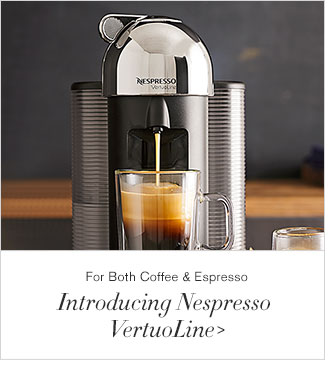 For Both Coffee & Espresso - Introducing Nespresso VertuoLine