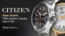 Citizen Watches Sale Link