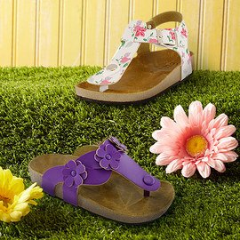 Fresh Footprints: Girls' Sandals