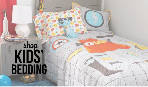 15% off bedding and blankets.