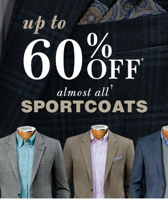 Up To 60% Off* Sportcoats