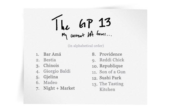 The GP 13