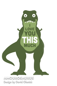 AMOUROSAURUS Design by David Olenick