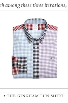 THE GINGHAM FUN SHIRT