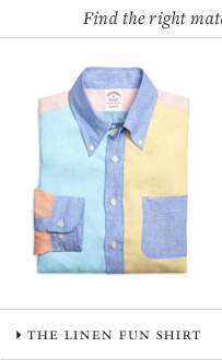 THE LINEN FUN SHIRT