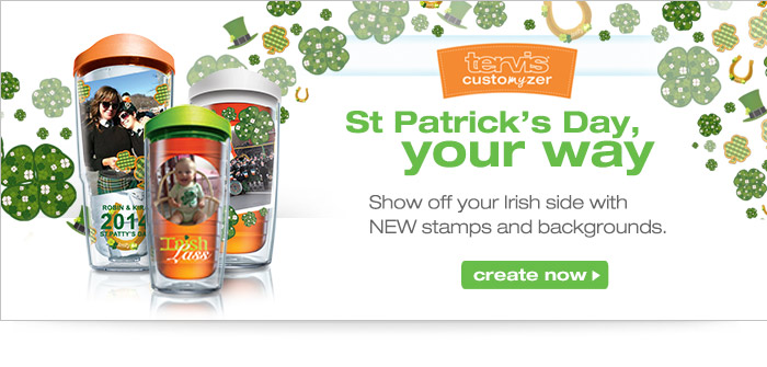 Customize your perfect St. Patrick's Day Design
