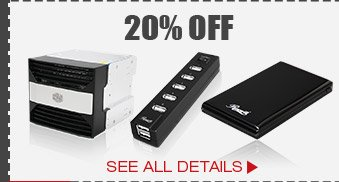20% OFF SELECT PERIPHERALS & PC ACCESSORIES!*