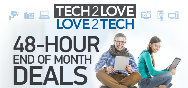 48 Hour End of Month Deals