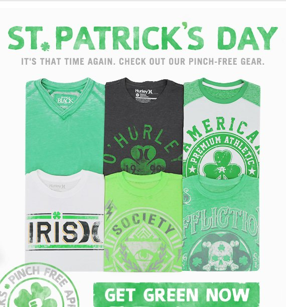 Shop for Saint Patricks Day
