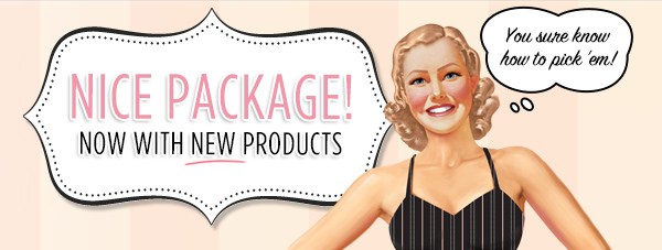 Nice Package! Custom Kit: New products added!