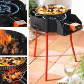 Paella Grill with Burner