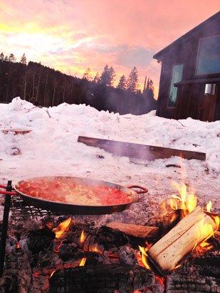Bonfire Paella