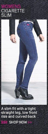 Cigarette Slim Jeans