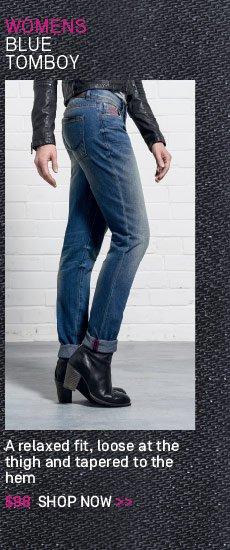 Blue Tomboy Jeans