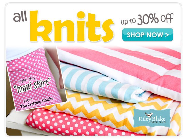 Up to 30% off Knits