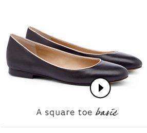 A square toe basic. Shop Lida