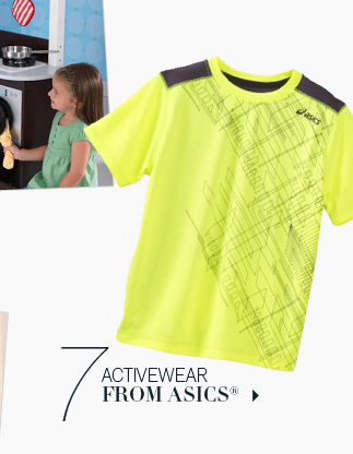 7. Activewear from Asics®.