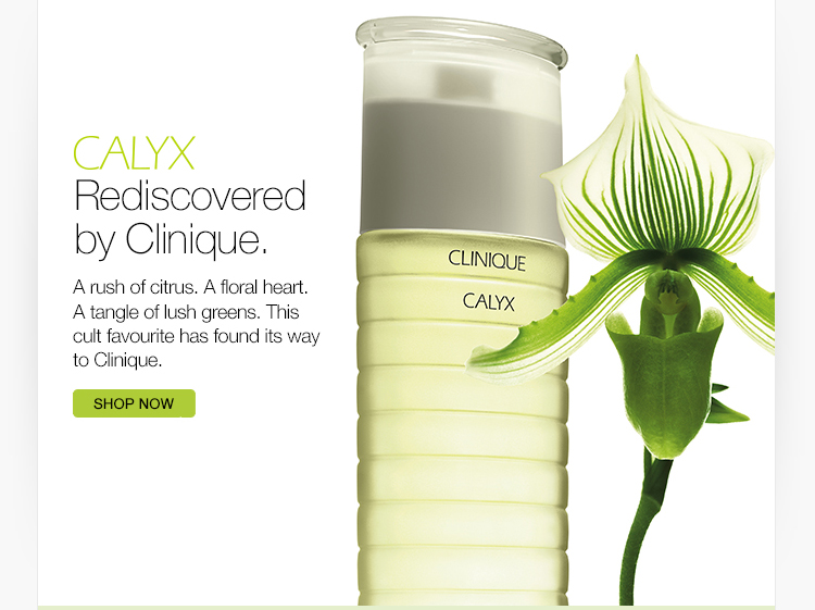 Calyx Rediscovered by Clinique