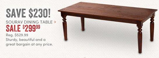 Sourav Dining Table - $299.99