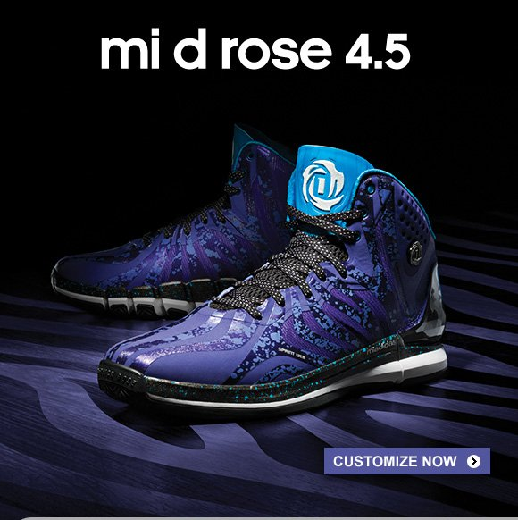 Customize mi D Rose 4.5 Basketball Shoes »