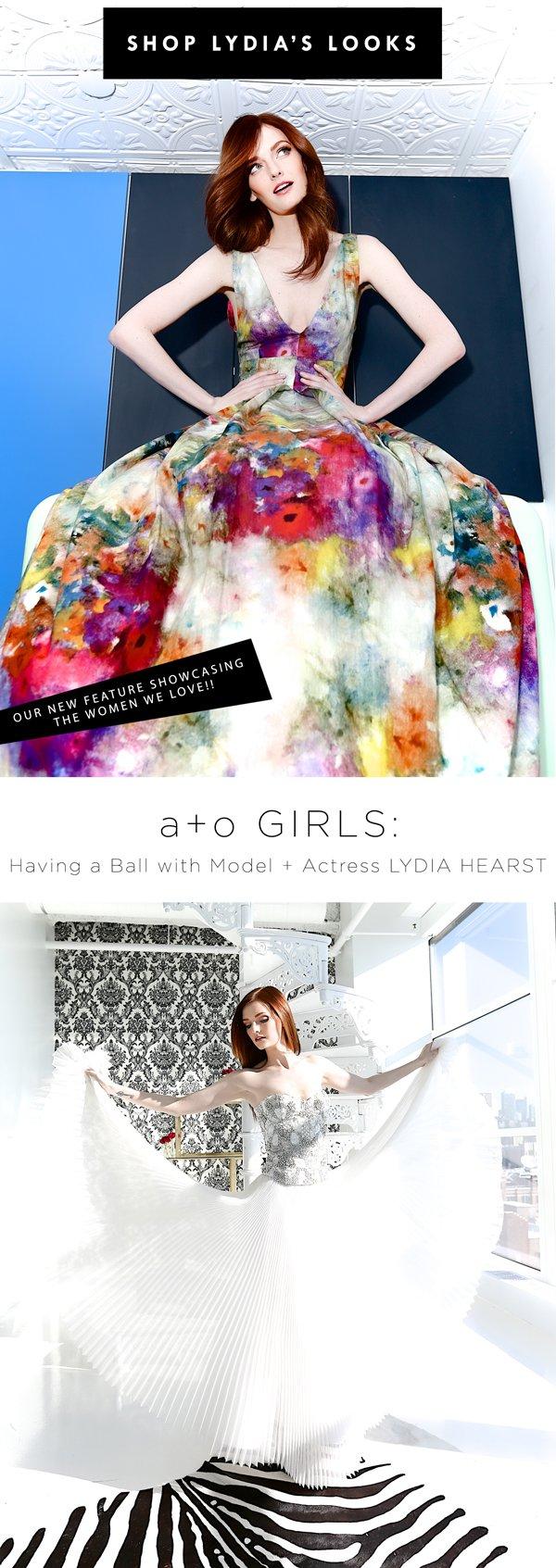 Shop Lydia's Gowns