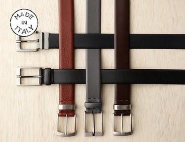Made in Italy: J.Campbell Dress Belts