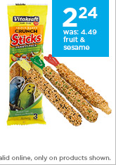 Vitakraft Kracker Sticks for Parakeets