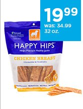 Dogswell Happy Hips Jerky Dog Treats