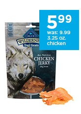 Blue Buffalo Wilderness Dog Jerky Treats