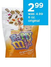 Friskies Original Crunch Party Mix Cat Treats