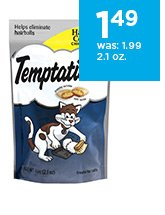 Whiskas Temptations Hairball Control Cat Treats