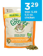 Feline Greenies Dental Treats for Cats