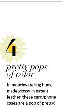 4. pretty pops of color