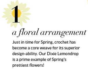 1. a floral arrangement