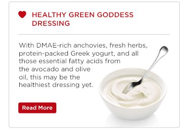 Healthy Green Goodness Dressing