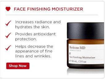 Face Finishing Moisterizer
