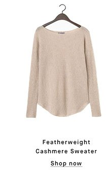 Featherweight Cashmere Sweater - Shop now