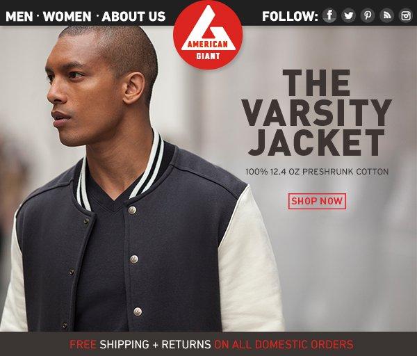 Introducing: The Varsity Jacket.