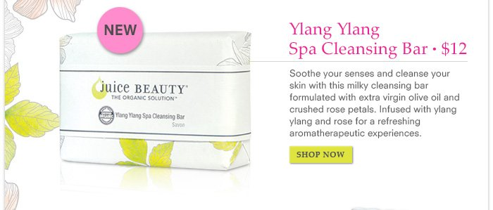 Ylang Ylang Spa Cleansing Bar