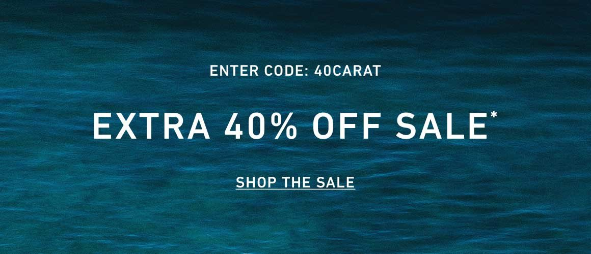 Extra 40% Off Sale. Enter Code: 40CARAT