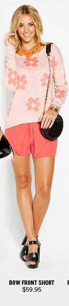 Bow Front Short $59.95