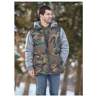 Fleece Bubble Jacket