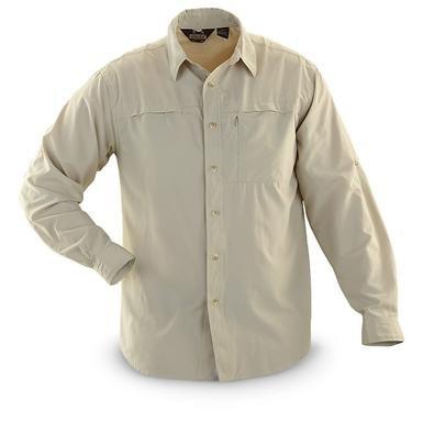 Guide Gear® Long-sleeved Tech Outdoor Shirt
