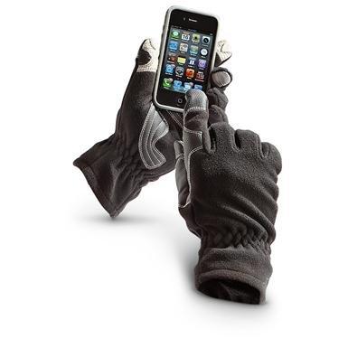 2 Prs. of Jacob Ash® Pro-Text Fleece Gloves