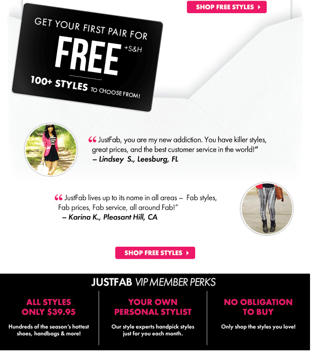 Shop Free Styles Now!