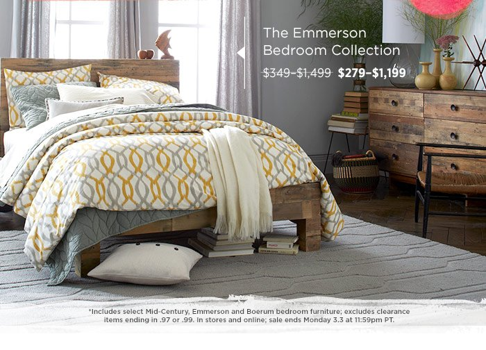 The Emmerson Bedroom Collection