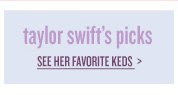 see taylor swift's picks