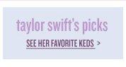 see taylor swift's picks